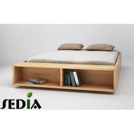 Półka na książki w łóżku Iryd