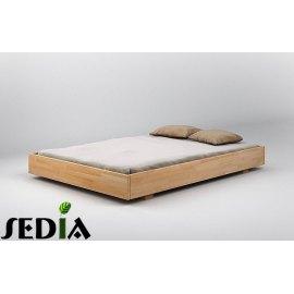 Łóżko do sypialni z drewna - Opal
