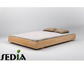 Opal - Łóżko do sypialni z drewna