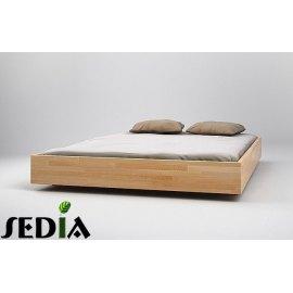 Solidne łóżko do sypialni Opal