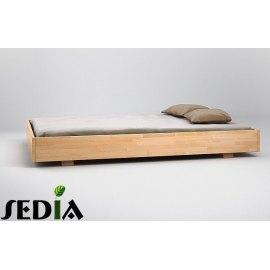 Łóżko łóżko drewniane 120x200 Opal