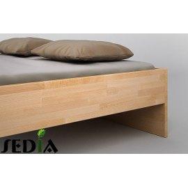 Łóżko z klejonki bukowej Agat
