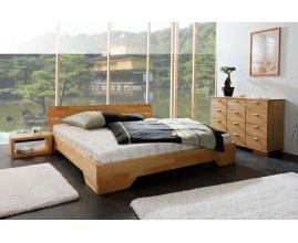 Łóżka bukowe do sypialni Caro 3