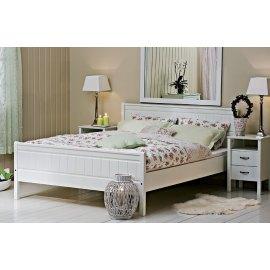 Łóżko do sypialni białe - Combo