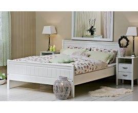 Combo - Łóżko do sypialni białe