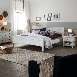 Łóżko do sypialni w stylu angielskim - West