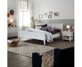West - Łóżko do sypialni w stylu angielskim