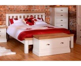 Acer - Łóżko drewniane białe