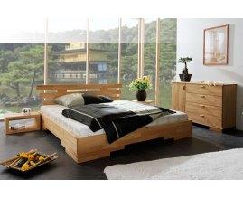Drewniane łóżko Caro 4