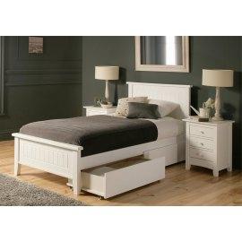 łóżko z szufladami do sypialni - Begonia