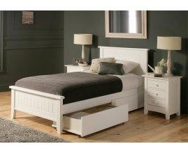 Begonia - łóżko z szufladami do sypialni