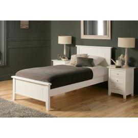 Łóżko do sypialni w stylu prowansalskim Begonia