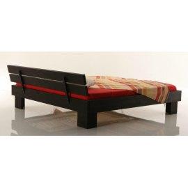 Łóżko z drewna do sypialni Metis