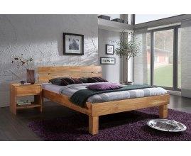 Łóżko z drewna dębowego Mezo