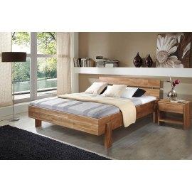 Łóżko drewniane dębowe Una