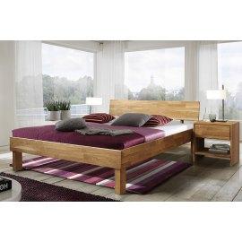 Łóżko dębowe do sypialni Nord