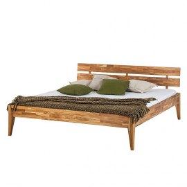 Łóżko dębowe Bergen