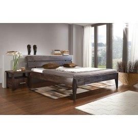Łóżko nowoczesne dębowe Bergen