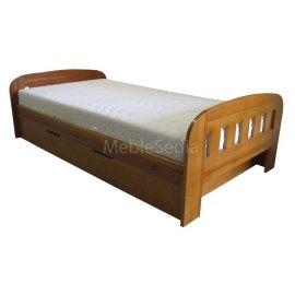 Łóżko sosnowe Uno II