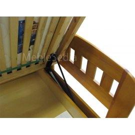 Mechanizm podnoszenia stelaża w łóżku Uno II