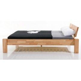 Bukowe łóżko olejowane Cliper