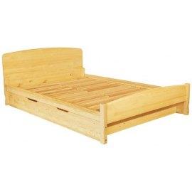 Łóżko sosnowe z pojemnikiem Emilio II