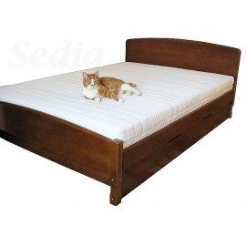 Łóżko z pojemnikiem Emilio II