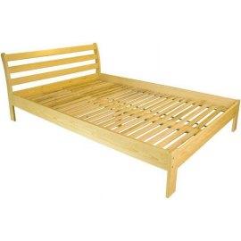 Łóżko sosnowe do sypialni Lusia