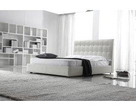 Abel - nowoczesne łoże tapicerowane