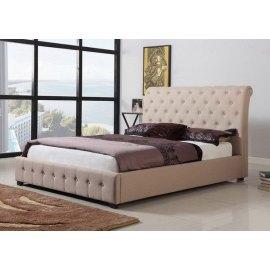 tapicerowane łóżko w stylu klasycznym Walter