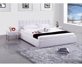 Dario - nowoczesne tapicerowane łóżko