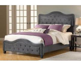 Bruno - tapicerowane łóżko w stylu prowansalskim