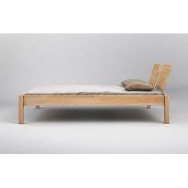 Nowoczesne łóżko z litego drewna Ruten