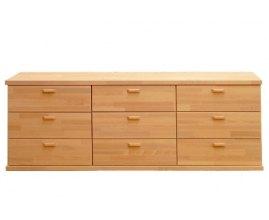 Caro 9S - Komoda z litego drewna