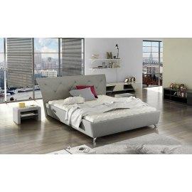 Nowoczesne łóżko tapicerowane Rumba