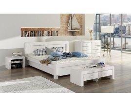 Łóżko tapicerowane do sypialni Select