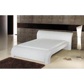 Białe łóżko do sypialni nowoczesne Imperial