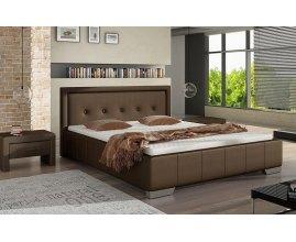 Łóżko tapicerowane z pojemnikiem Kwant
