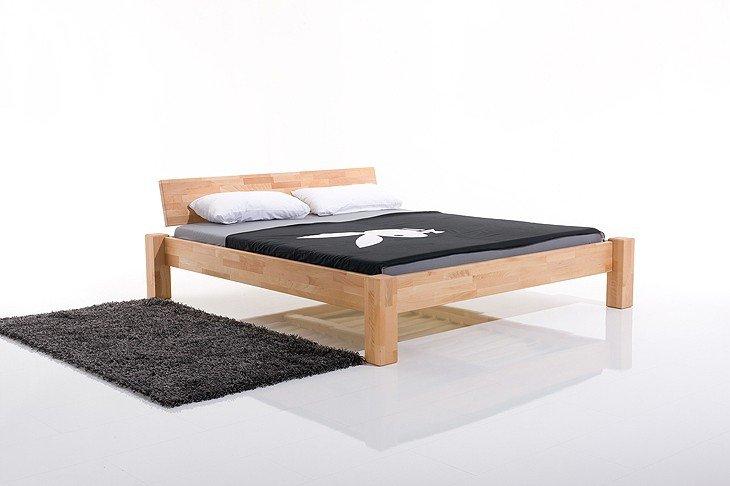 Łóżko drewniane bukowe
