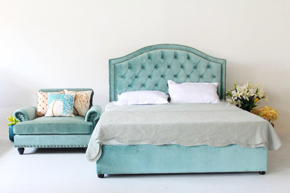 Łóżko pikownae do sypialni