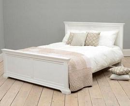 Łóżka białe