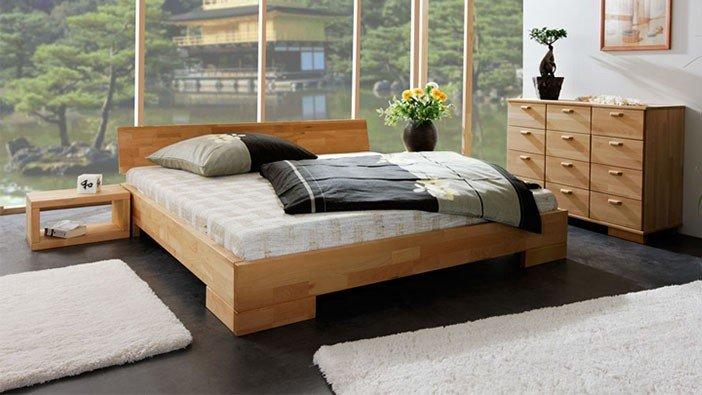 Solidne łóżka z litego drewna